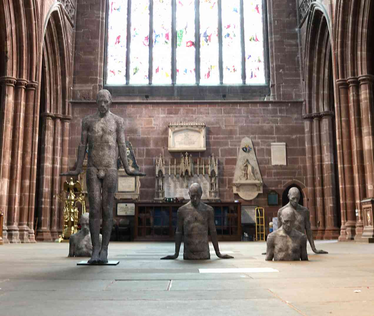Chester Cathedral Solo Exhibition